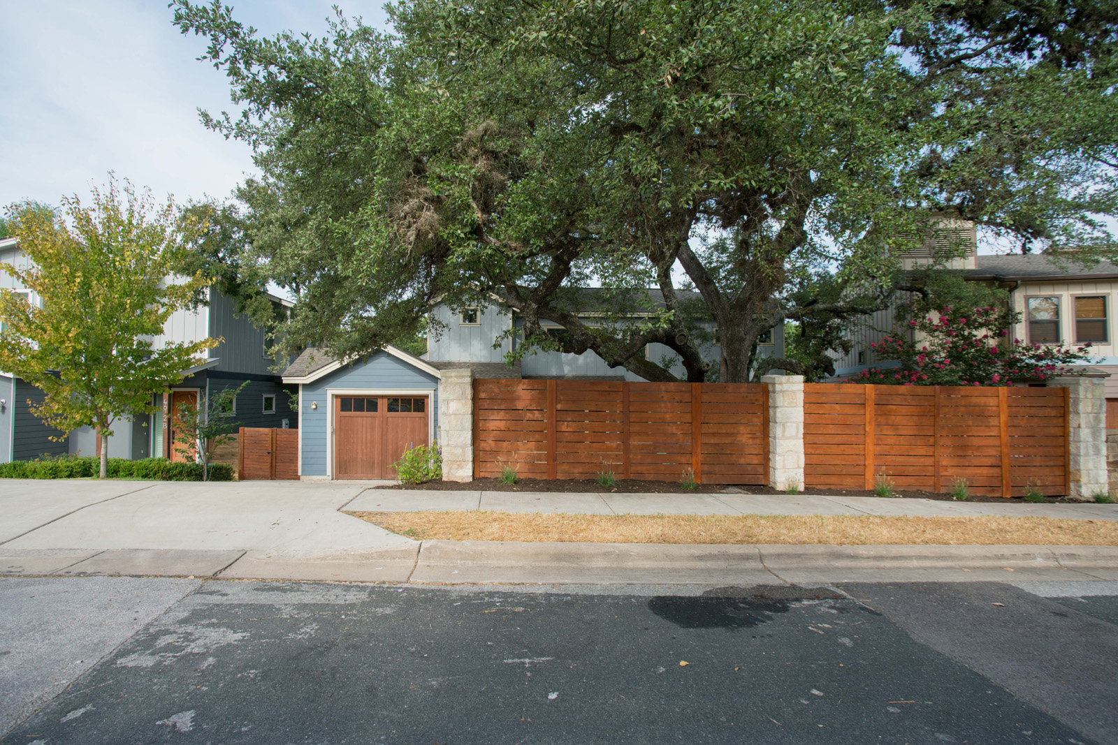 buying a home in austin texas sunny day real estate.